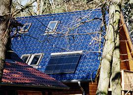 Solartermie mit Vakuum-Röhrenkollektoren zur Warmwassererzeugung