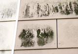 Teilveralgung einer hinterlüfteten Faserzementfassade